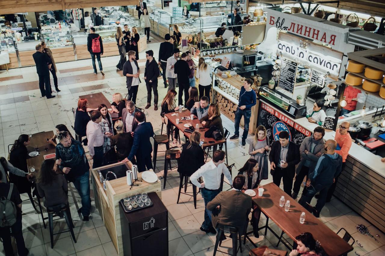 Усачёвский рынок.<br>Новоселье